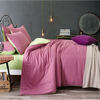 Bedding sets Single Double Double color Simple Nordic style White Pink Polyester Comforter XHS0043