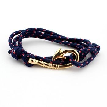 Bracelet Lotus Ancre Femme