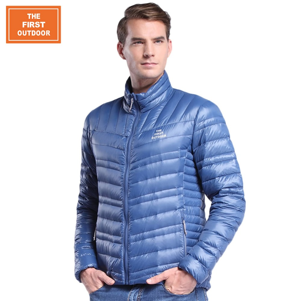 packable lightweight down jacket page 1 - hooded