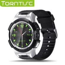 Nueva torntisc v11s gps deportes smart watch mtk2503 soporte telefónico notificador bluetooth nano sim tf tarjeta con sync para ios Android