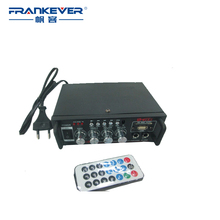 Frankever Hot Selling Volume Control DC12V -AC220V Stereo Car Audio Amplifier Plate subwoofer amplifier Free Shipping AK-698E