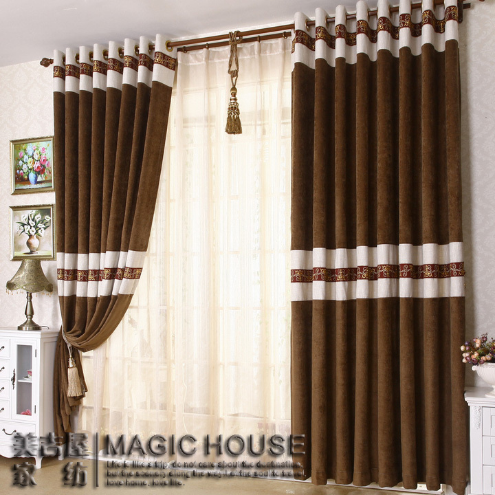 Curtain stitching designs curtain menzilperde net for Bedroom window styles