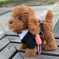 Прогулки Музыкальный Робот Собака Интерактивные Электрические Домашние Животные Плюшевые Игрушки Открытый Fun Куклы Детские игрушки Подарки для детей 4 цвета