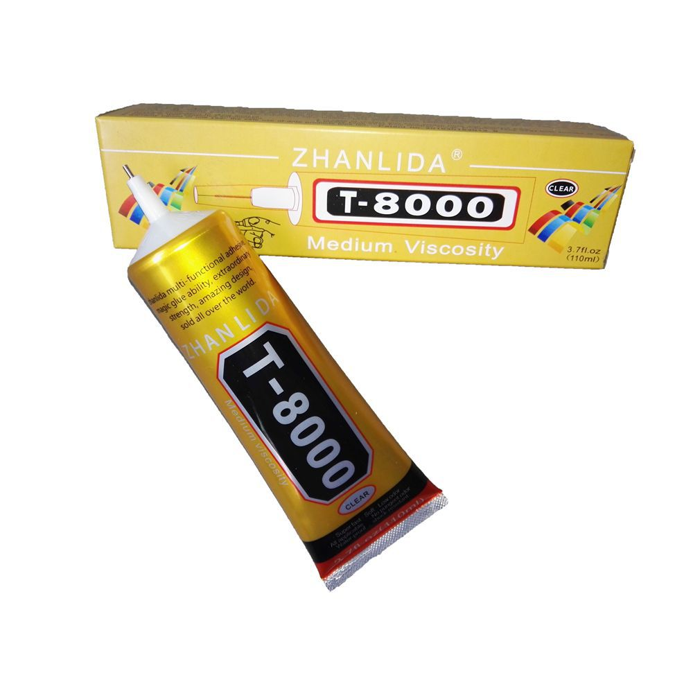 US $12 15 |T8000 Glue 110ML Multipurpose High Strength Adhesive for Cell  Phone Repair Bag Shoes Car DIY Diamond Jewelry -in Epoxies from Home
