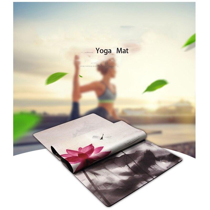 2018 tout nouveau tapis de Yoga 3.5 MM d'épaisseur antidérapant Durable exercice Fitness tapis de Gym perdre du poids Pad tapis de Yoga