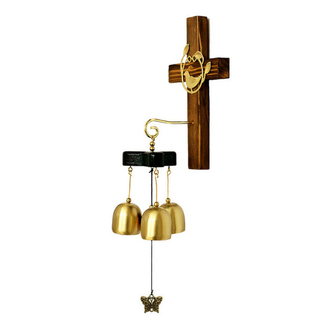 Feng Shui Alloy 6 Bells Lucky Wind Chimes Outdoor Home Decoration ...