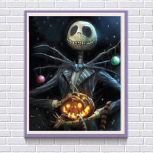 5D DIY Diamant Painting Kreuzstich Horror Halloween Dekoration Voller Diamanten Mosaik Wandbild Diamant Malerei Gifts F29 цена