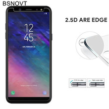 2PCS Glass For Samsung Galaxy A6 Plus 2018 Phone Screen Protector Tempered Front Film