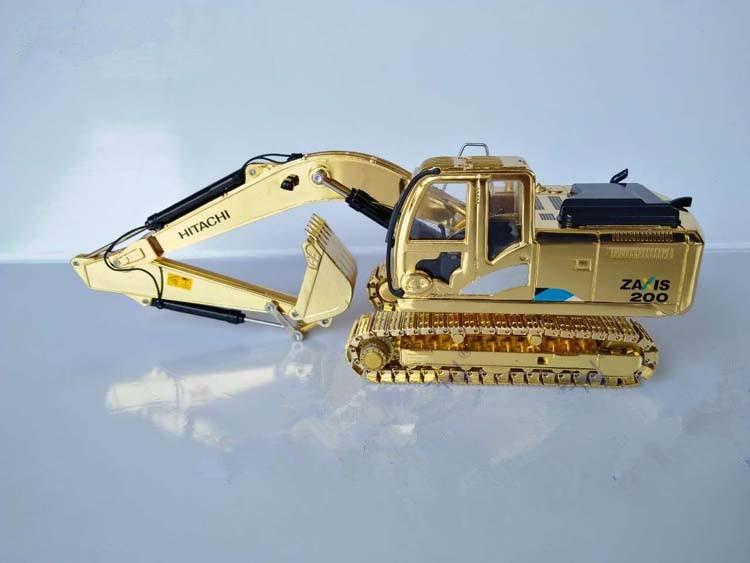 Rare!! Hitachi ZAXIS200 5 Series Hydraulic Excavator 1//40 Scale *GOLD*