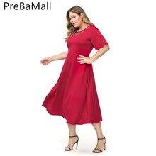 Plus Size Muslim Women Dress 2019 Summer Short Sleeve Abaya Arabic  Middle East Ramadan Arab Islamic Clothing C249