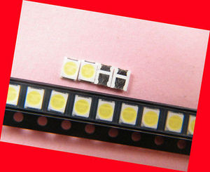 Image 2 - 400 Stuks 2835 3528 Smd Lamp Kralen 3V 350mA Voor Led Tv Reparatie Koude Wit Licht 100% Nieuwe