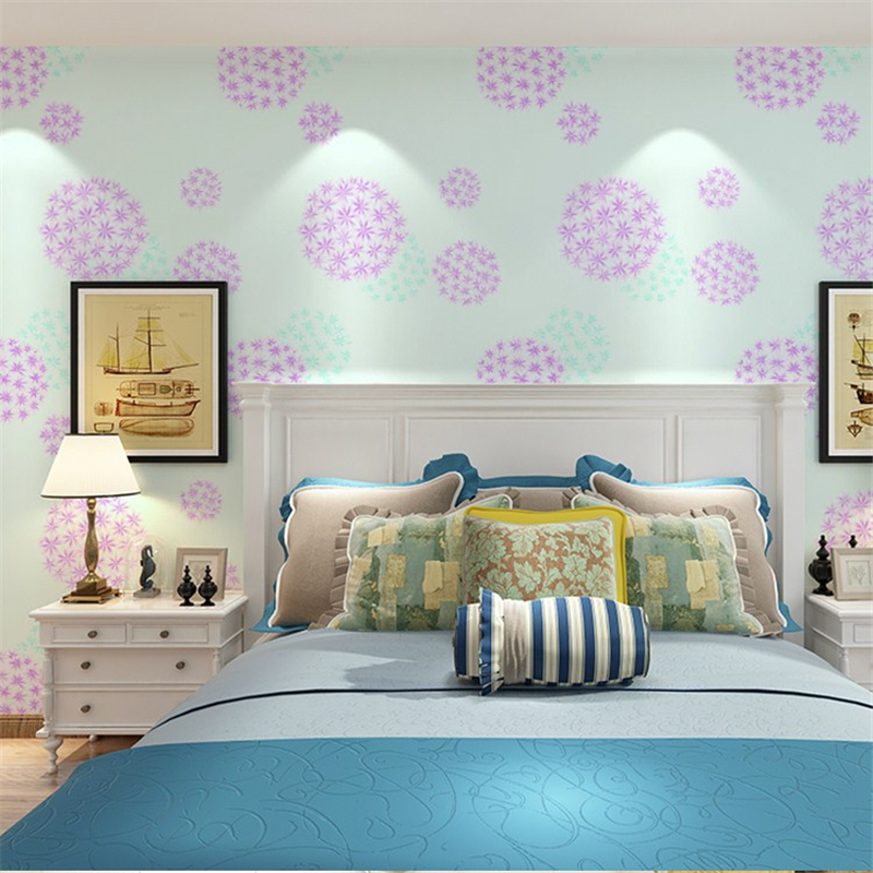 beibehang flower walls papers home decor living room TV sofa background wall covering wallpaper for walls 3 d papier peint beibehang beach papel de parede mural wallpaper for living room bedroom sofa background wall paper photo wallpaper for walls 3 d