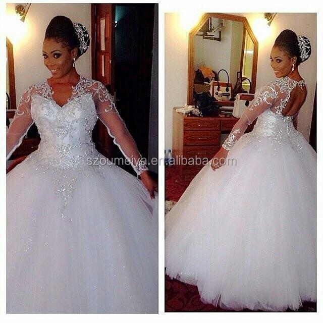 Long sleeve bling dresses