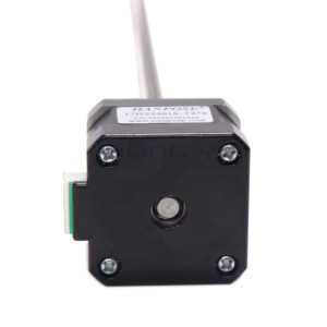 Image 5 - Free shipping  nema17 Screw 17HS3401S T8 L310 350MM Laser and 3D printer stepper motor Pitch with brass nut for CE ROSH ISO CNC