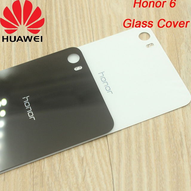 on sale 7b390 f2439 US $2.69 10% OFF|Original Rear Housing Cover for HUAWEI Honor 6 , Back Door  Replacement Battery Case,Adhensive Sticker Included.5Inch-in Fitted Cases  ...