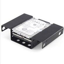 "NOYOKERE Nice Internal 2.5"" HDD Rack Tray less Mount SATA SSD Bracket for Floppy Space In the Desktop"