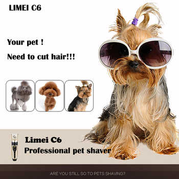Electrical Pet Hair Trimmer Rechargeable Low-noise Cat Dog Hair Clipper kit Remover Cutter Grooming Pets Accessories Haircut