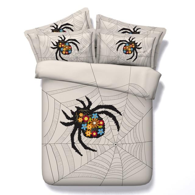 Horrible Spider Printed Comforter Bedding Sets Twin Full Queen Super
