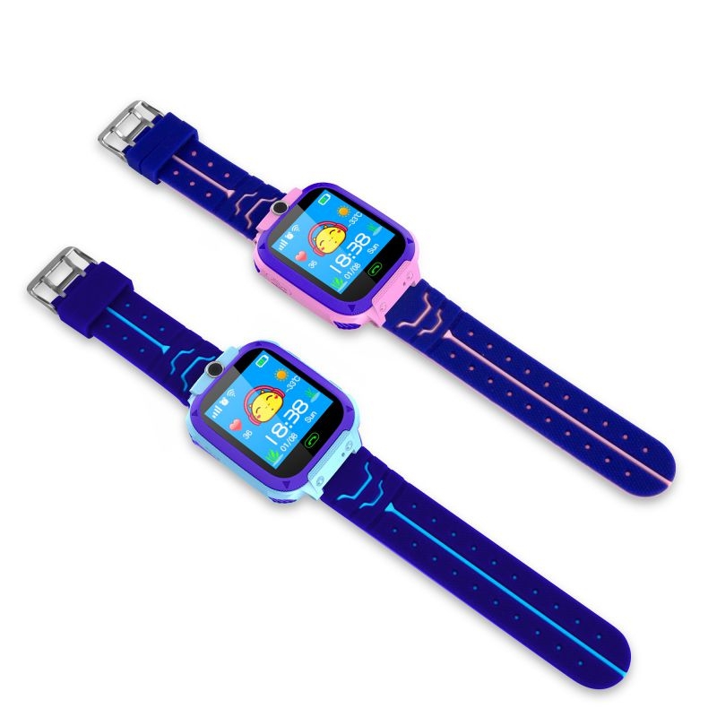 Children\\\'s smart waterproof watch anti-lost children\\\'s watch LBS positioning SOS help Android IOS P1