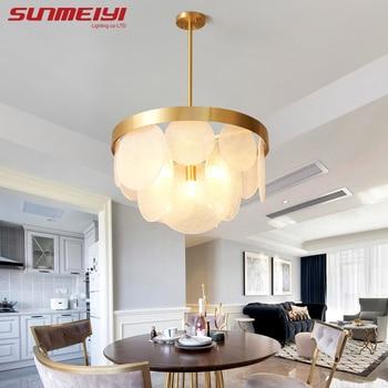 LED Glas Anhänger Kronleuchter Beleuchtung Moderne Lampe Für wohnzimmer  esszimmer Kronleuchter Gold LED Leuchten recibidor de entrada