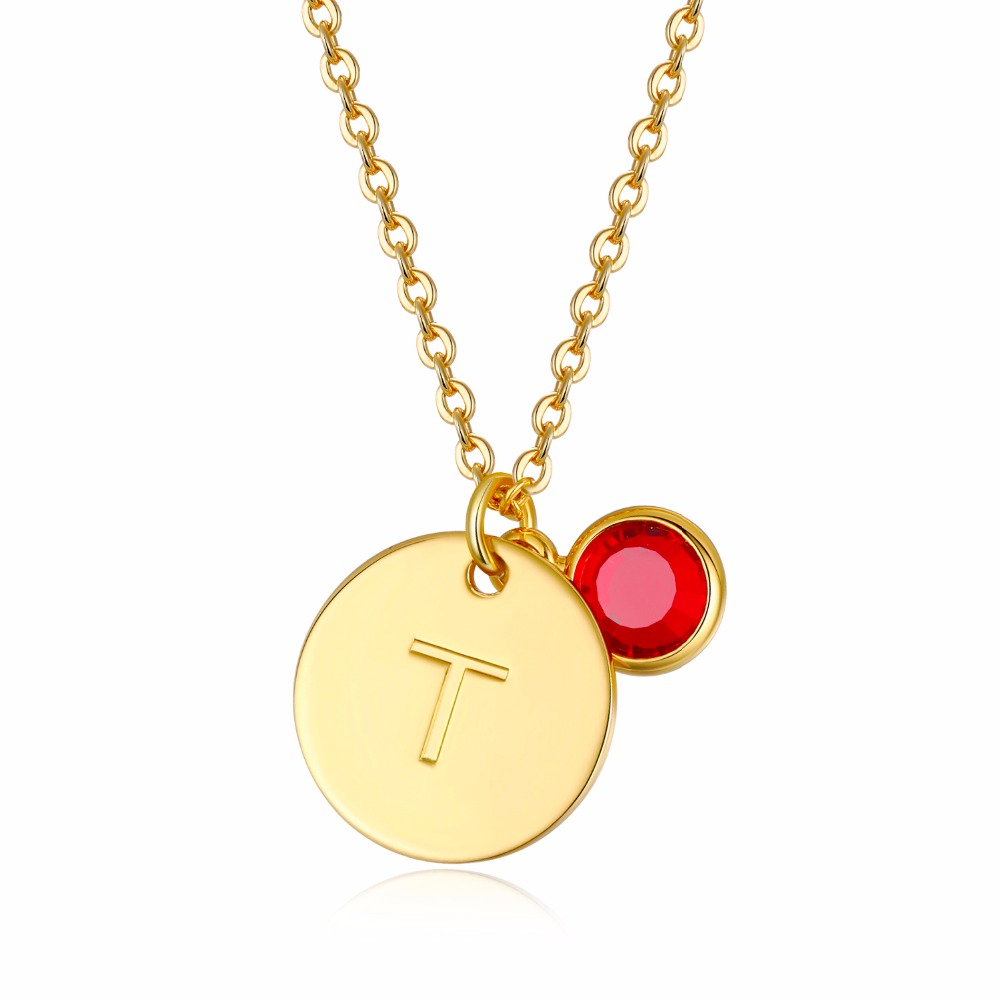 Personalized 18th Birthday Necklace Initial Custom: Letter Necklaces For Women 18 Gold Color Personalized
