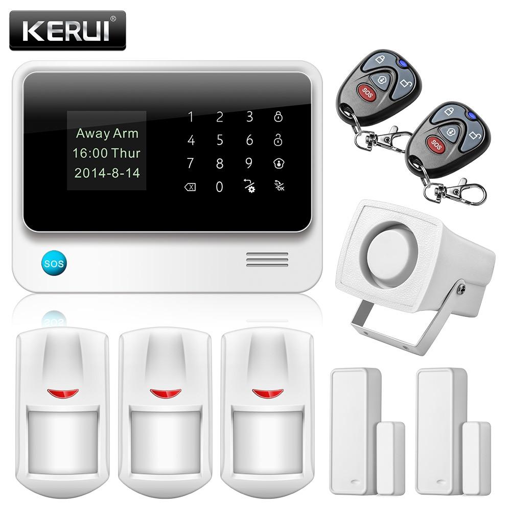 imágenes para G90B-PLUS WiFi GPRS Sistema de Alarma GSM Sistema de Alarma de Seguridad de Marcado Automático de Alarma Personalizar APP de Control Detector PIR Sensor de Puerta