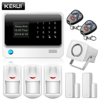 NEW Product WiFi GPRS Alarm GSM Autodial Security Alarm System Personalise Alarm System APP Control PIR