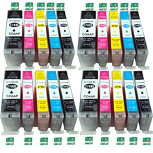 цена на 20 Compatible Canon PGI 570 CLI 571 Ink Cartridge For Pixma MG6850 MG6851 MG6852 MG6853 MG5750 MG5751 MG5752 MG5753 Printer