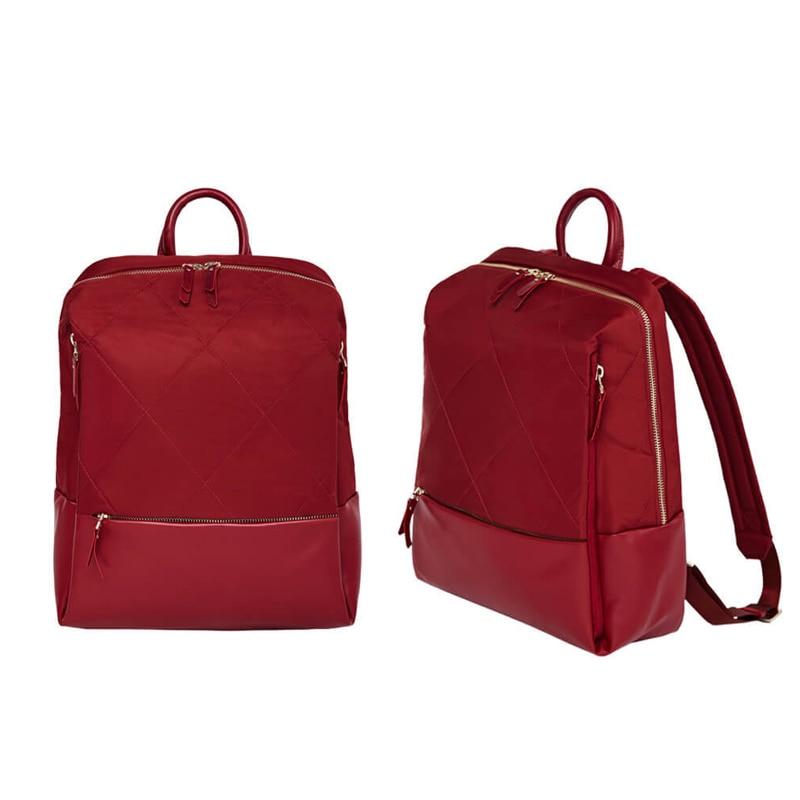 Оригинальный Xiaomi 90 Забавный городской рюкзак для женщин Модный Элегантный рюкзак с ромбовидной решеткой для девочек, Студенческая Повседневная Школьная Сумка 13 дюймов - 2