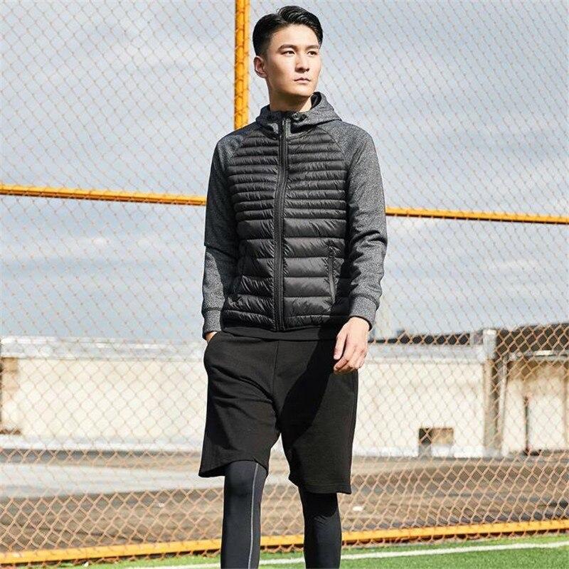 Xiaomi Uleemark hombres abajo chaqueta Casual moda invierno chaqueta abrigo para hombres con capucha algodón acolchado ropa abrigo hombre Outwear otoño - 4