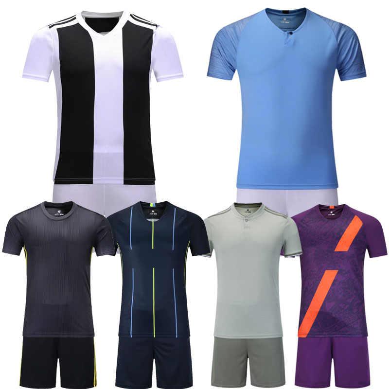 2a399c592 Kids blank short sleeve soccer jersey youth football jersey boys plain 6  colors soccer uniforms Futbol