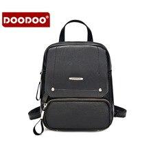 Doodoo новый дизайнер модного бренда леди натуральная кожа рюкзак женщины рюкзаки bolsa femininas vintage кисточкой известный бренд t281