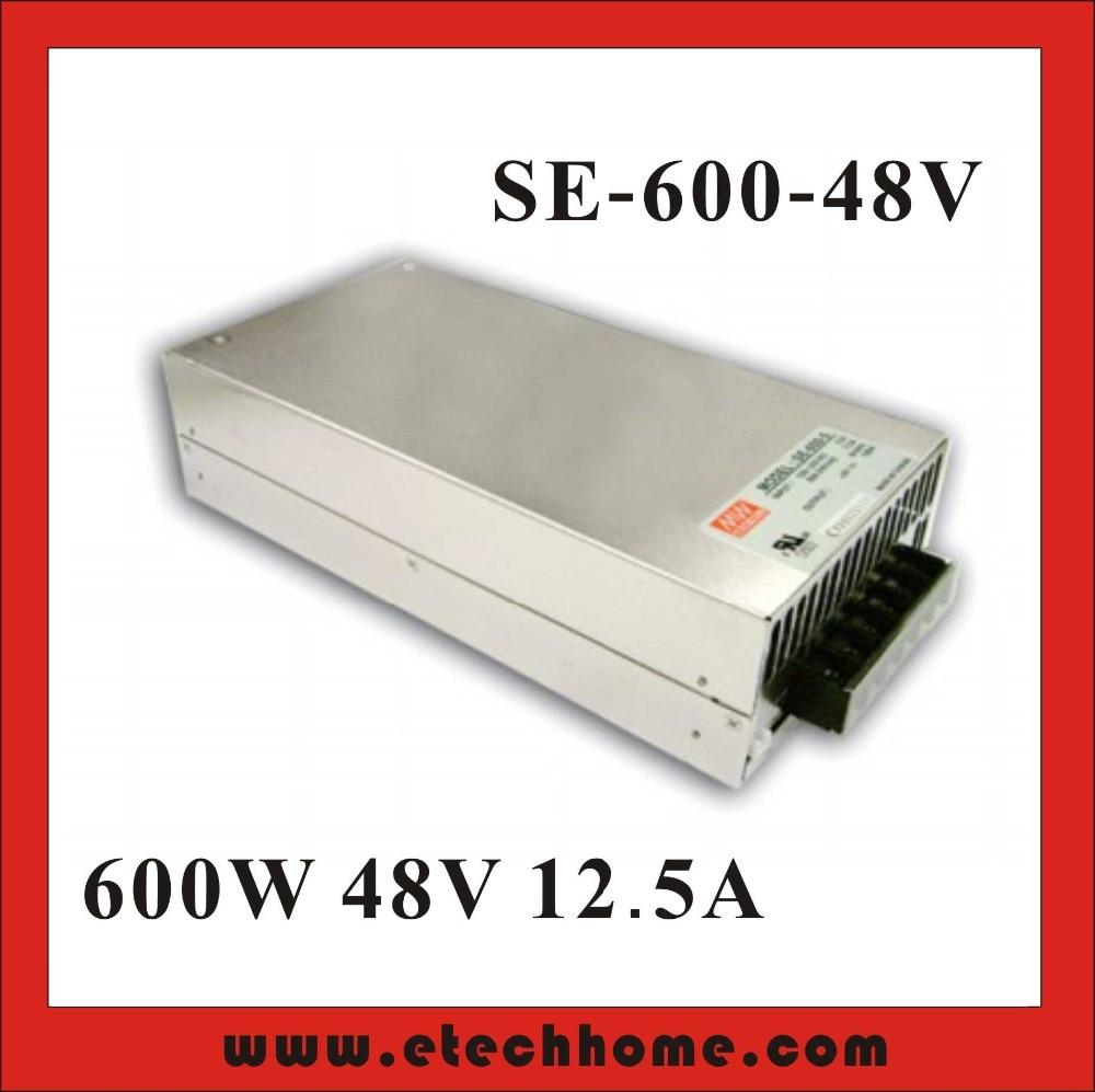 все цены на High Quality Mean Well Switching Power Supply 600W 48V 12.5A SE-600-48 Stepper Motor Switch Power Supply онлайн