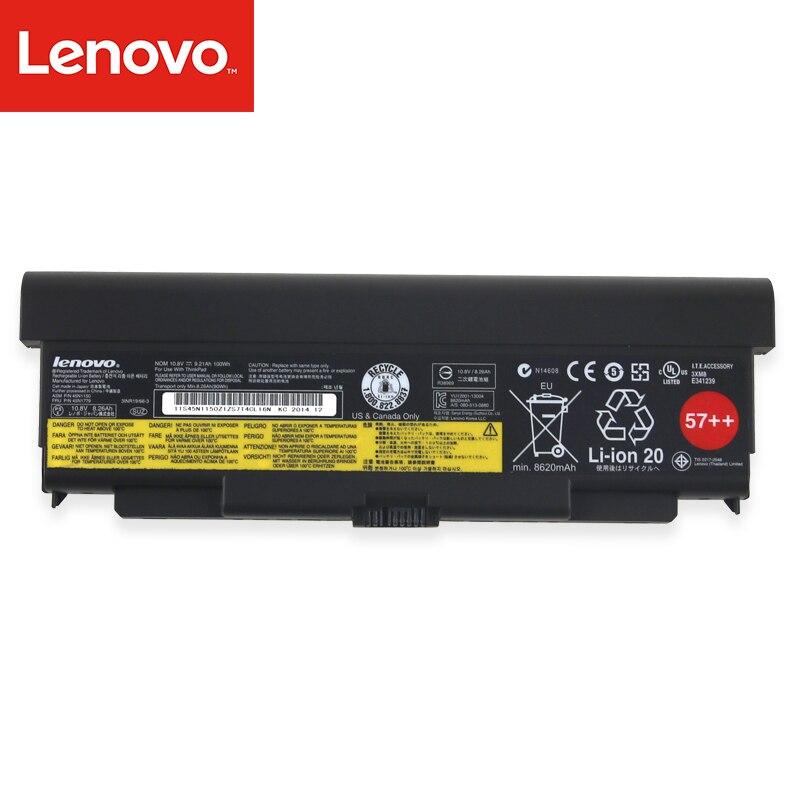 Batterie D'ordinateur Portable d'origine Pour Lenovo ThinkPad T440P T540P W540 L440 L540 45N1144 45N1769 45N1145 45N1148 10.8 v 100Wh 9 core
