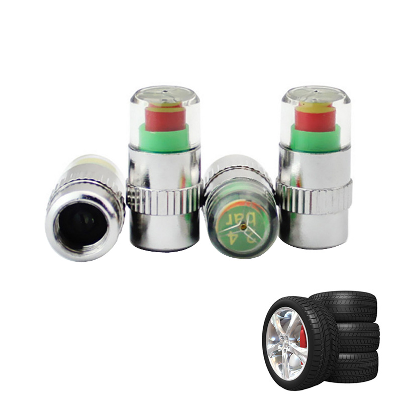 Car Tire Pressure Detection Caps Diagnostic Tools Mechanical Tyres Detector Gauge Automobiles Manometer Maintenance Accessories