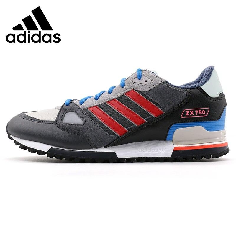 Prix pour Original Nouvelle Arrivée de Adidas Originals ZX 750 Hommes Low top Planche à Roulettes Chaussures Sneakers