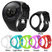 NEW 22cm Colorful Silicone Replacement Wristband for Polar M200 Soft Protective Case
