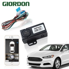 Smart Key Car Alarm System With Remote Start And bluetooth controls Mobile