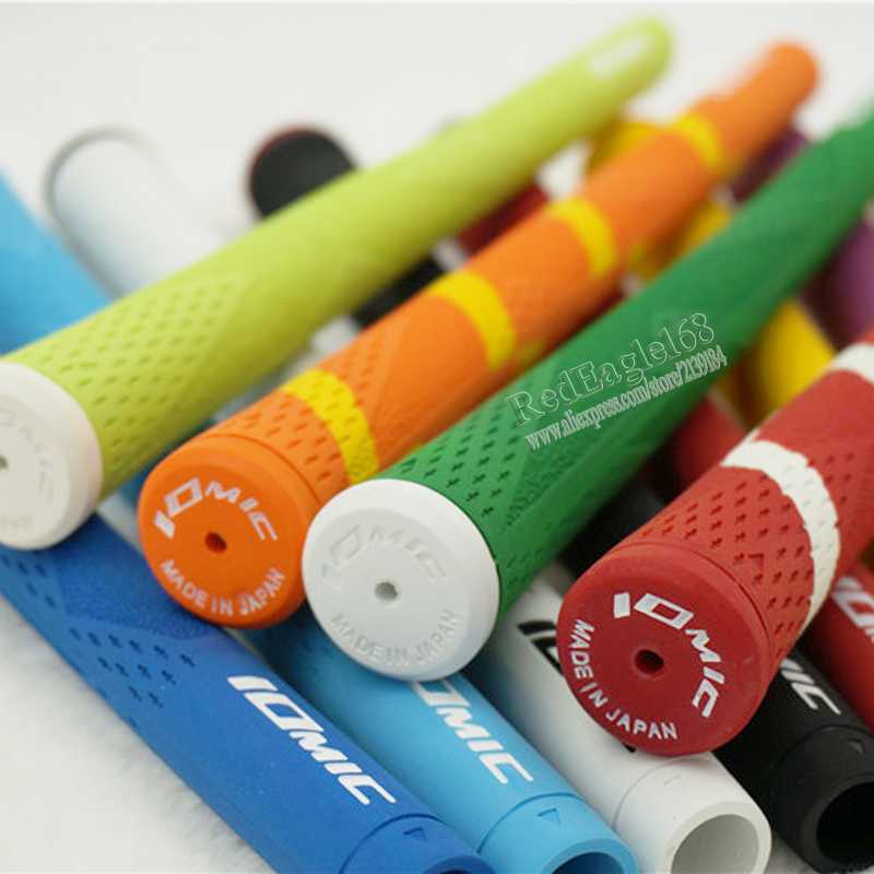 New Golf clubs grips high quality rubber IOMIC Golf wood grips 12 colors in choice 30pcs/lot irons clubs grips Free shipping