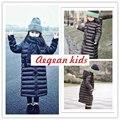 Alta qualidade 2016 para baixo casacos de inverno meninas para baixo outerwear jaqueta & casacos de Bebê jaqueta de inverno longo casaco de roupas de inverno para meninas