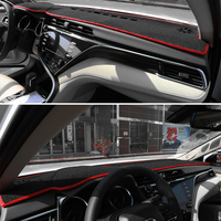 JY Anti Slip Polyester DashMat Dash Mat Cover Dashboard Car Interior Pad Fit For TOYOTA CAMRY