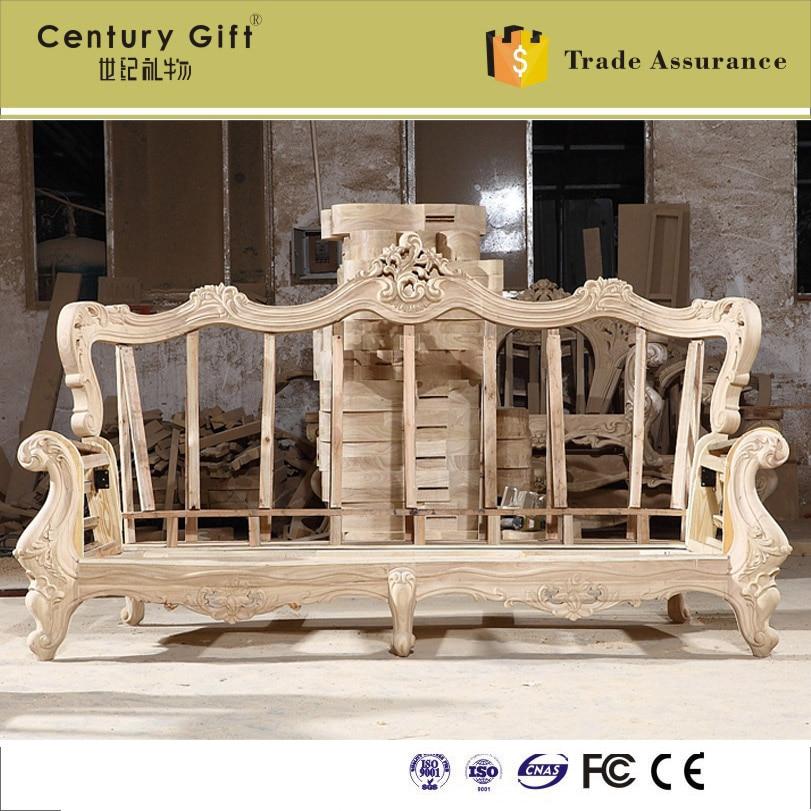 Carved Wooden Frame Sofa | www.elderbranch.com
