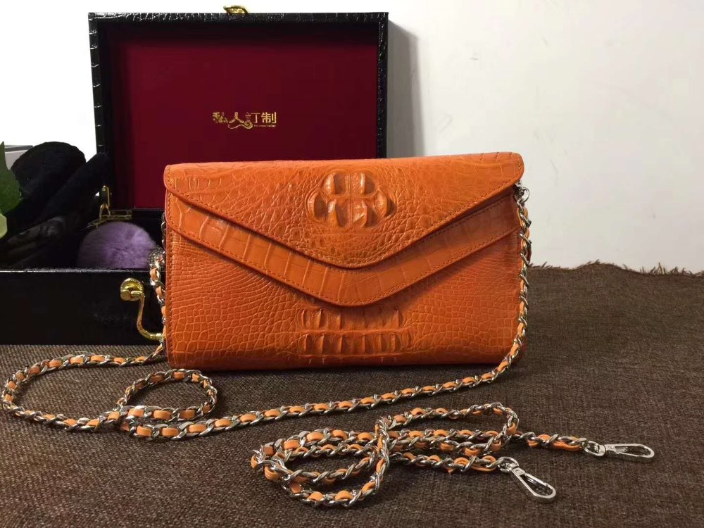 purple and orange color 100% genuine crocodile leather skin wallets and purse alligator skin wallets women clutch evening bag стоимость