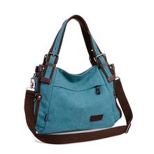 Women Canvas Shoulder Bags Handbags Messenger Top-Handle Bags Tote Female Girls shopping/travel Crossbody Bag Large