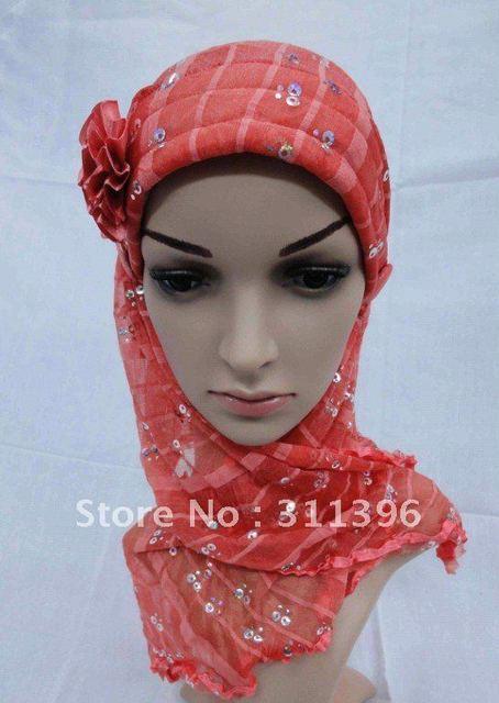 032204  latest  lady fashion muslim scarf ,women wear square scarf  free shipping