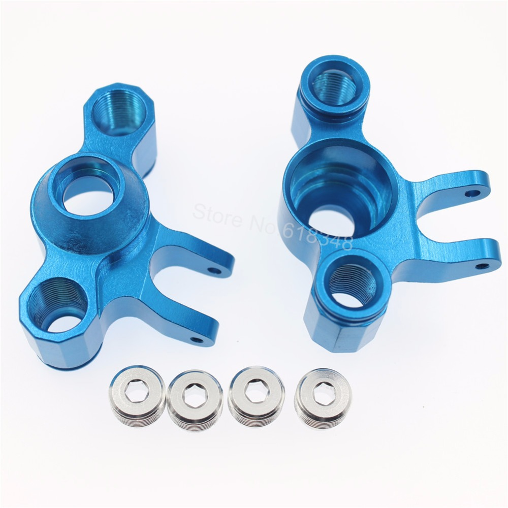 For RC 1/10 T-Maxx 3.3 Aluminum Axle Carriers Steering Knuckles Left / Right Hop-Up 5334 dunlop winter maxx wm01 225 55 r17 101t