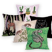 Vintage fundas decorativas para cojines fundas de almohada de animales en la almohada para el sofá personalizado multicolor cojines de alta calidad decoración cama