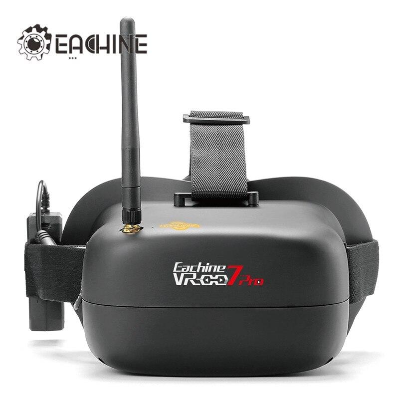 Eachine VR-007 Pro VR007 5.8g 40CH FPV Occhiali 4.3 pollice Con 3.7 v 1600 mah Batteria per RC Drone