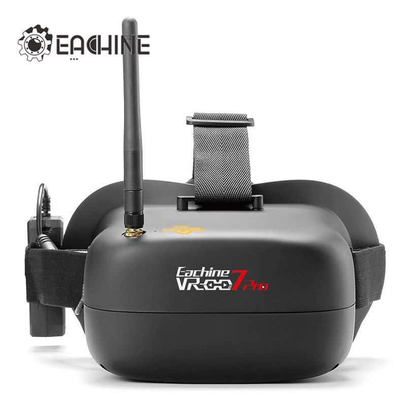 Eachine VR-007 Pro VR007 5.8G 40CH FPV Goggles 4.3 Inch With 3.7V 1600mAh Battery for RC Drone
