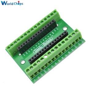 ATMEGA328P ATMEGA328P-AU NANO V3.0 3, 0 контроллер клеммный адаптер плата расширения расширение пластина NANO IO щит для Arduino